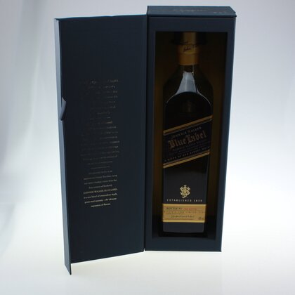 Johnnie Walker Blue Label Whisky 40% 0.7 L