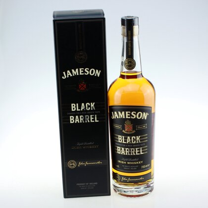 Jameson Black Barrel Whiskey 40% 0.7 L