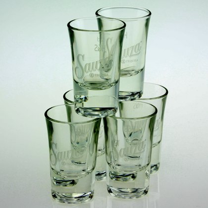 Sauza Tequila Shot 2 cl 6 er Set