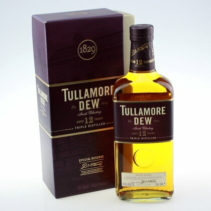 Tullamore Dew Special Reserve 12 Jahre Whiskey 40% 0.7 L