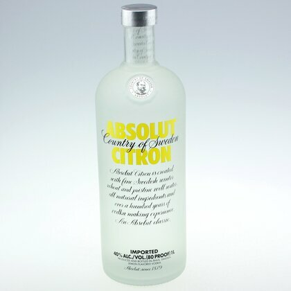 Absolut Citron 40% 1 L