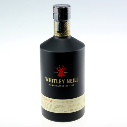 Whitley Neill Small Batch Handcrafted 43% 0,7 L