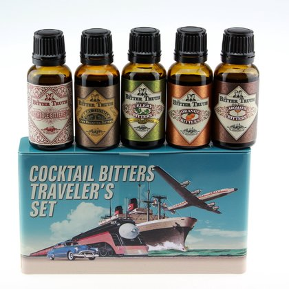 The Bitter Truth Cocktail Bitters Travelers Set Tin 38,2% 5x0,02L