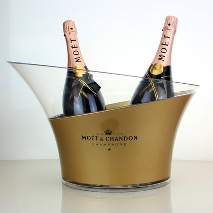 Moet & Chandon Rose Imperial Magnum 2 x 1,5 L & Kühler