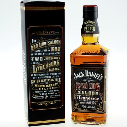 Jack Daniel´s 125 th Red Dog Saloon Whiskey 43% 0.7 L