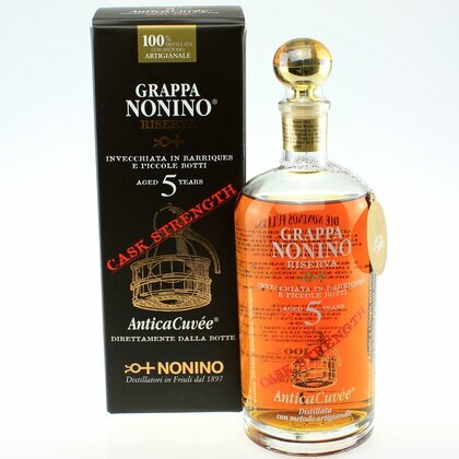 Nonino Riserva 5 Years Cask Strength 59,9% 0,7 L