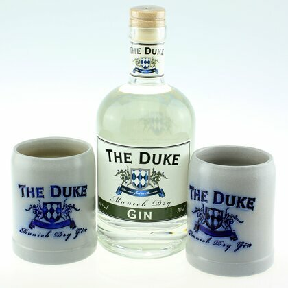 The Duke Munich dry 45% 0,7 L &  2 Steinkrüge Set