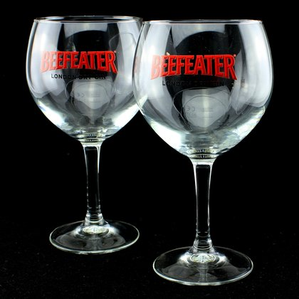 Beefeater Gin Copa Glas 2 er Set
