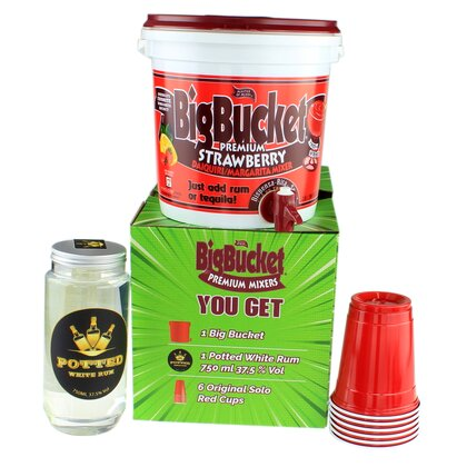 Big Bucket Party Pack Strawberry