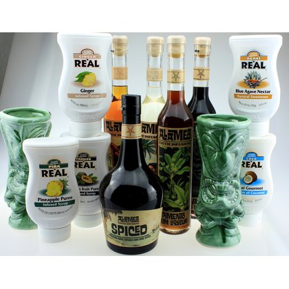 Alamea Real Tiki Cocktail Set