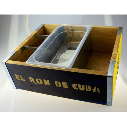 Havana Club Servier Box Rustikal