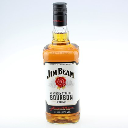 Jim Beam Whiskey 40% 1 L