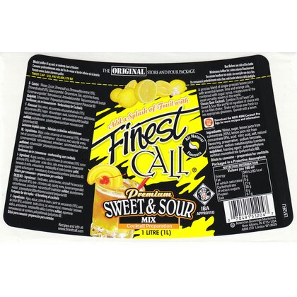 Finest Call Sweet n Sour Mix